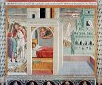 Benozzo Gozzoli. Il Sogno del palazzo, chiesa di San Francesco, Montefalco.